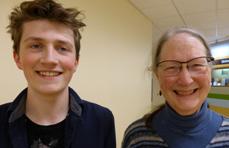 Finnegan Mascher och Ann Phillips