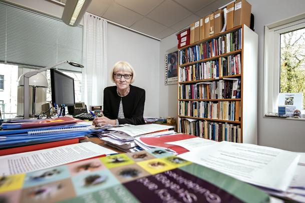 Unescoprofessor Ulla Carlsson.