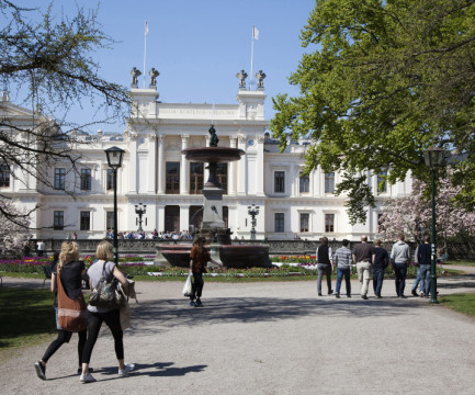 Studenter utanför Lunds universitet