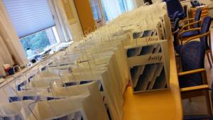 SULF-föreningen vid Göteborgs universitet är redo att möta många personer under SULF-dagen.