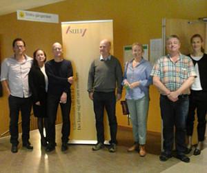 Styrelsen för SULF-föreningen vid Karlstads universitet på väg att möta medlemmarna.