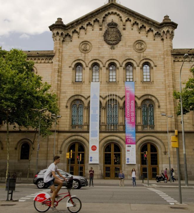 Huvudbyggnad Universitat de Barcelona