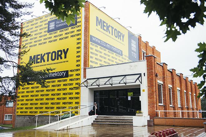 Mektory är Tallinns tekniska universitets innovations- och företagscentrum.