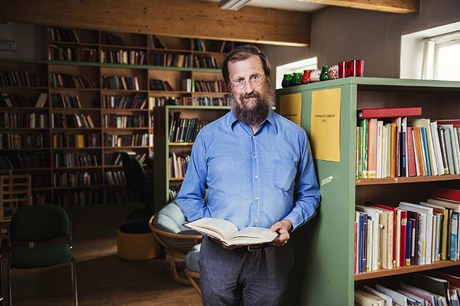 Daniel Sävborg, professor i skandinavistik.