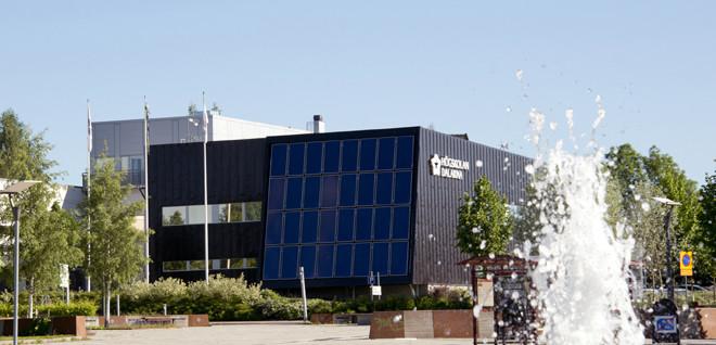 Campus Borlänge vid Högskolan Dalarna.