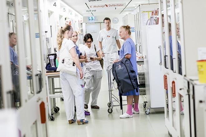 Numera är det inte bara kliniker som vill bli docenter vid Karolinska institutet. En stor del av desökande är bland annat sjuksköterskor och arbetsterapeuter. På bilden syns Clinical Training Centre vid KI.