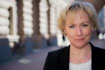 Helene Hellmark Knutsson (S), minister för högre utbildning och forskning