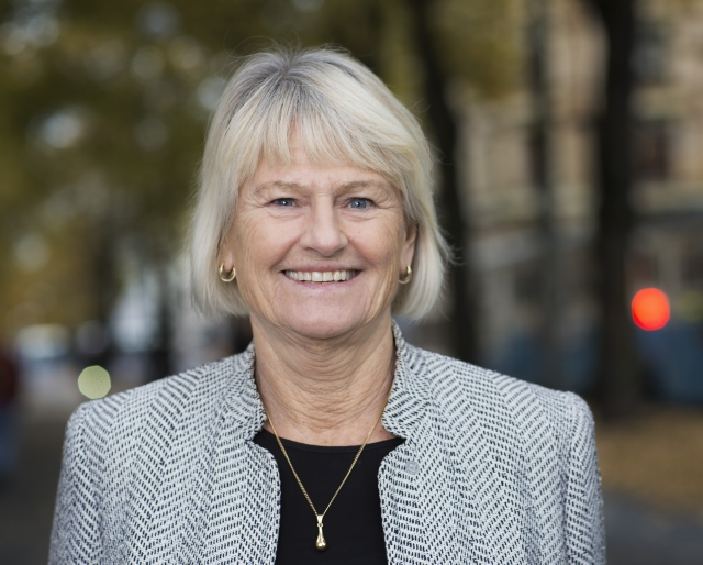 Pam Fredman, rektor vid Göteborgs universitet