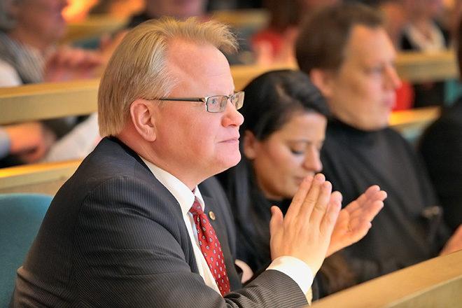 Försvarsminister Peter Hultqvist (S)