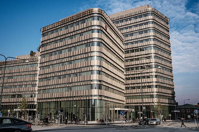 Byggnaden Niagara, Malmö högskola.