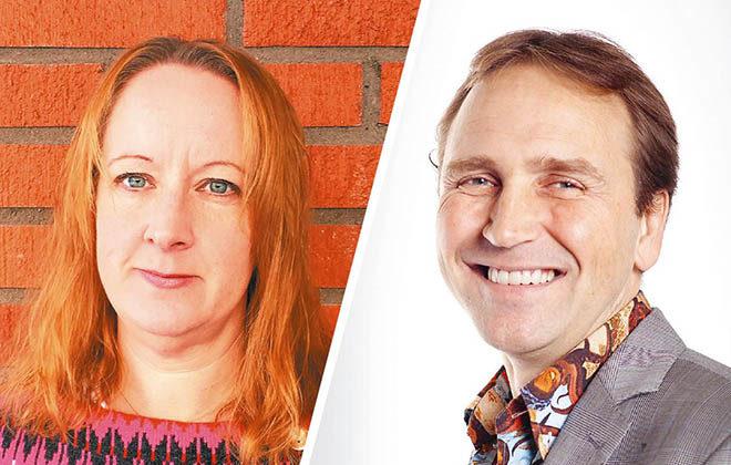Bild på Jenny Hallgren och Håkan Alm
