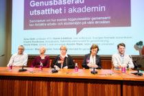 Paneldiskussion om sexuella trakasserier