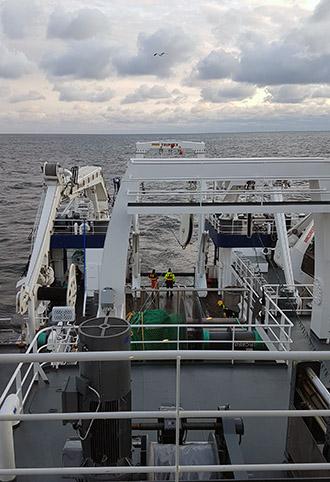 Forskningsfartyget Svea