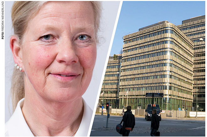 Kristina Axén Olin och Malmö universitet